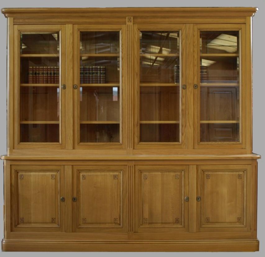 mobile libreria con vetri roma