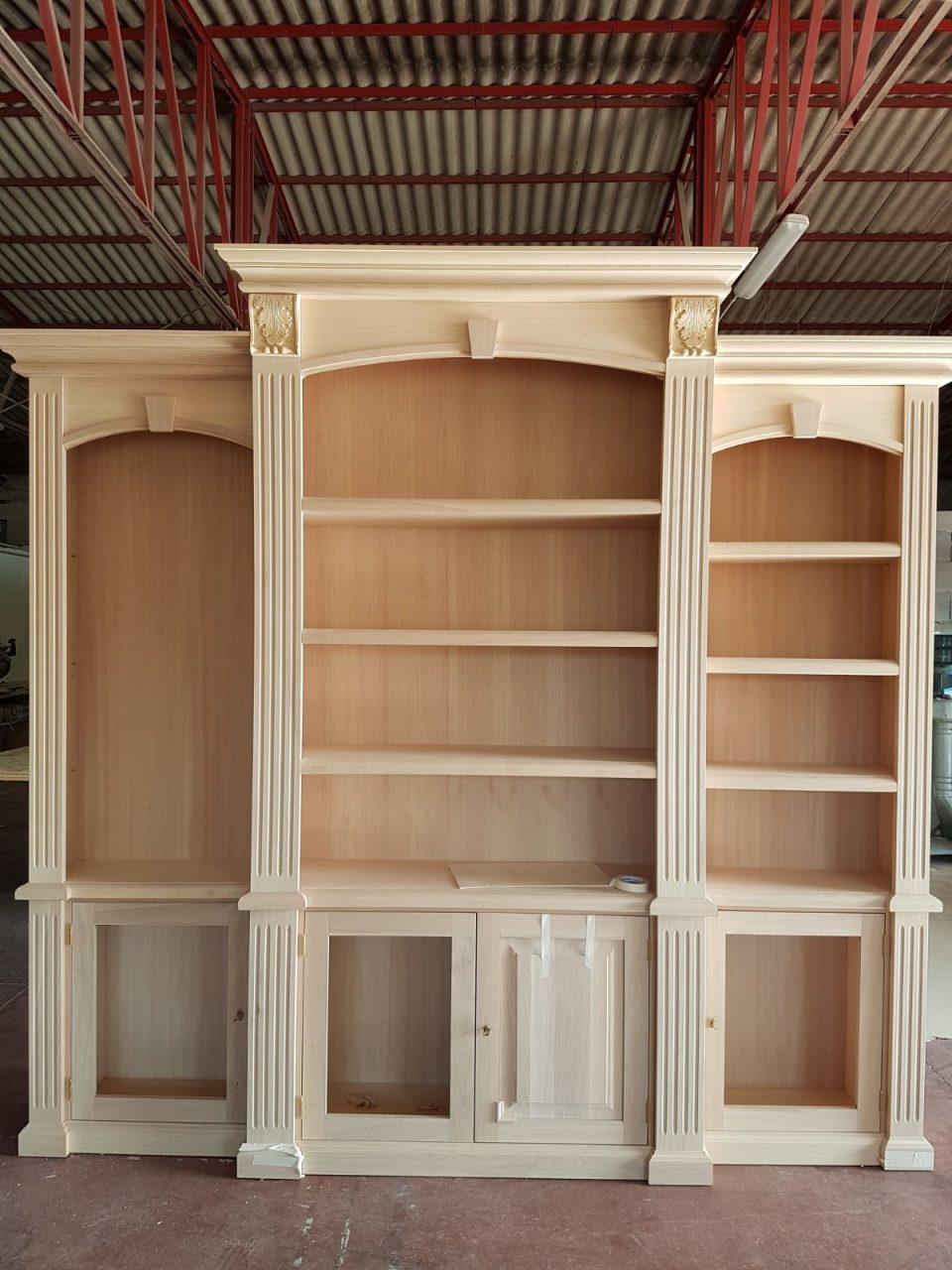 mobile librerie legno massiccio roma