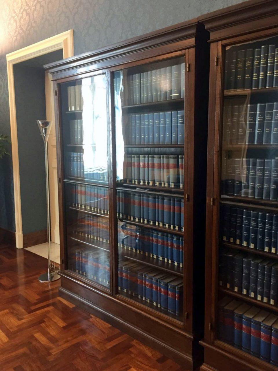 librerie basse per studio roma